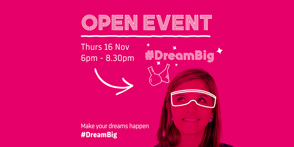 Just a few days left to book your place #DreamBig