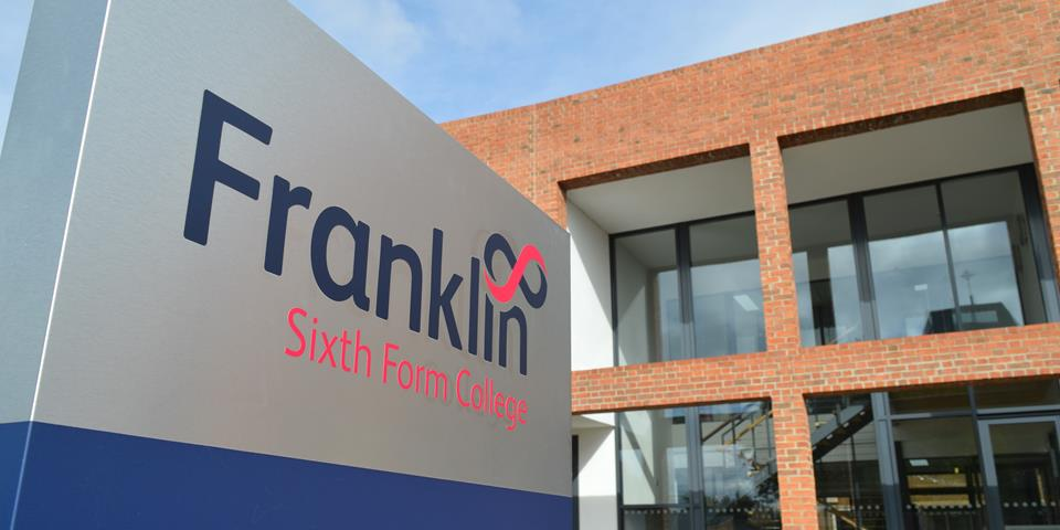 Franklin Sixth Form College's response to the Coronavirus outbreak