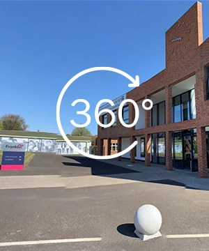 A link to a 360 tour of Main Entrance