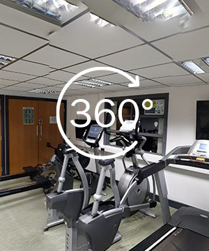 A link to a 360 tour of Gym