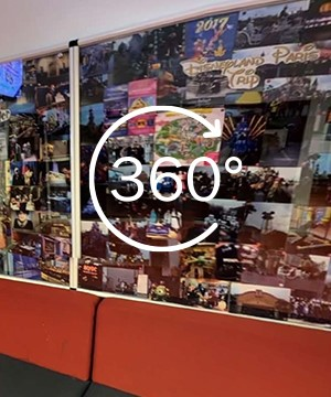 A link to a 360 tour of Media Classroom 2